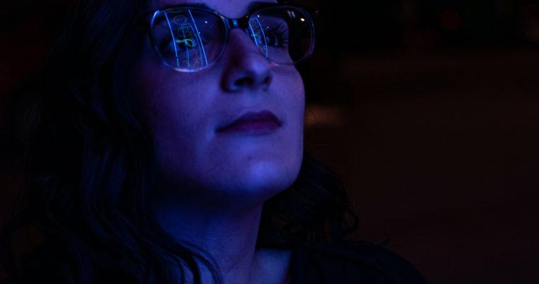 Blue Light Blocking Glasses for Online Teachers